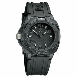 Luminox Men's 0201.BO Sentry 0200 Blackout With Rubber Band