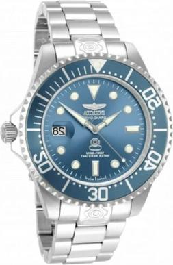 Invicta 13859 Men's Grand Diver Blue Dial Steel Bracelet Aut