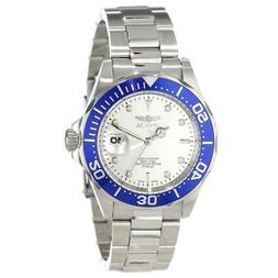 Invicta 14123 Men's Pro Diver Silver Dial Stainless Steel Wa