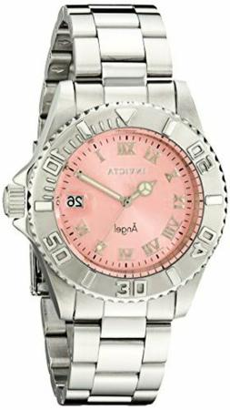 Invicta Women's 14360 Angel Analog Display Swiss Quartz Silv