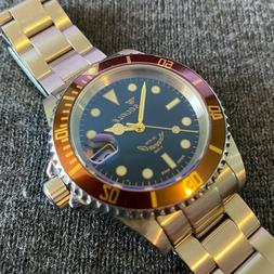 Squale 1545 Heritage Dive Watch - 40mm - 200m WR - Full Set