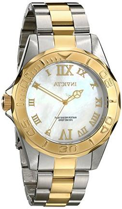 Invicta Men's 17872 Pro Diver Quartz 3 Hand White Dial Watch
