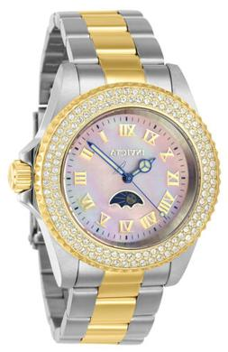Invicta 23832 Women's MOP Dial Two Tone Steel Crystal Dive W