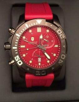 Victorinox 241422  Swiss Army Red Dive Master 500 Men's Chro