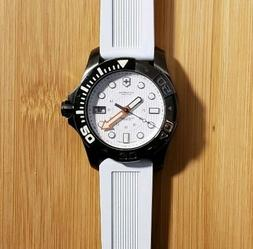 Victorinox 241559 Dive Master Watch  With 43mm White Face &