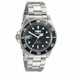 24760 men s pro diver automatic black