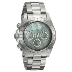 Invicta 24768 Mens Speedway White MOP Dial Chronograph Steel
