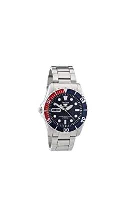 5 Blue Dial Stainless Steel...