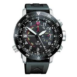 Citizen BN4044-15E Men's Promaster Eco-Drive Black Strap Div