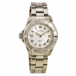 Invicta Women's Watch Angel Quartz Silver Tone Dial Steel Br