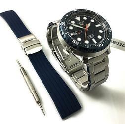 Seiko Men's SRPC63K Silver Stainless-Steel Automatic Sport W