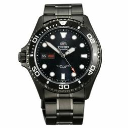 Orient Men's Watch Mako II Automatic Black IP Stainless Stee