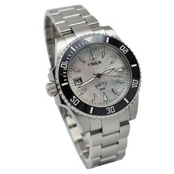 Aquacy 1769 Men's Automatic 300M White Mother of Pearl Dive