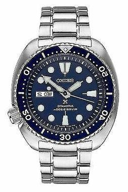Authentic Seiko Men's Propex Turtle Stainless Steel Watch SR