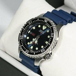 automatic dive blue dial watch ny0040 17le