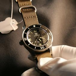 Steeldive Automatic Diving Watch 300m WR NH35A Movement Date