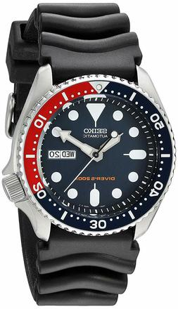 Seiko Automatic Men's Dive Watch SKX009 Blue Dial Pepsi Beze