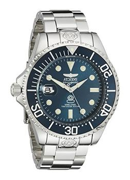 Invicta Men's 40mm Automatic Silver Steel Bracelet & Case Da