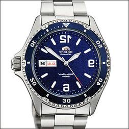 Orient Blue Mako II Automatic, Hand Wind, Hacks, Dive Watch