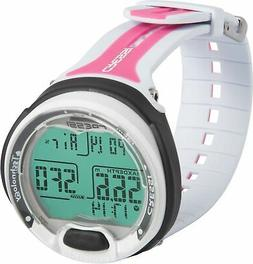 Brand New Cressi Leonardo Dive Computer Watch - White / Pink