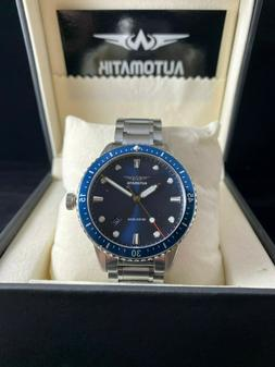 Automatik —Brand NEW Mens Blue Dive Watch 42mm Automatic N