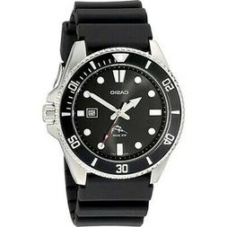 Casio Men's Stainless Steel Dive-Style Watch, Black Resin St