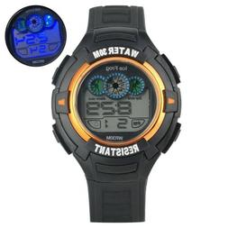 casual led display electronic digital watch students