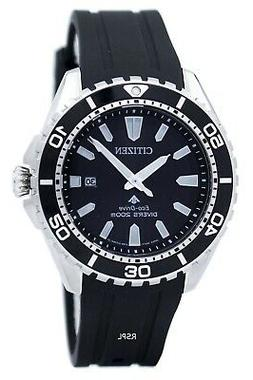 Citizen Eco-Drive Promaster Sea Mens 200m Dive Watch. ISO 64