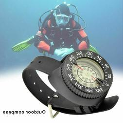Compass Scuba Diving Underwater Navigation Wrist Digital Wat
