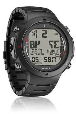 Suunto Men's D6i ALL BLACK STEEL W/ USB Athletic Watches