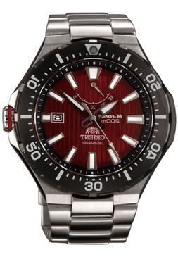 Orient DELTA M-Force Automatic Deep Red Dial Dive Watch Sapp