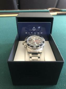 NAUTIS Dive Chrono 500 Watch - Blue  Stainless Steel  - NEW