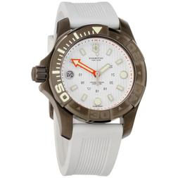 Victorinox Dive Master 500 Quartz Movement White Dial Men's