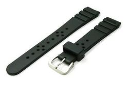 SEIKO Dive Rubber band for  18mm lug  Watch Strap  Japan Mad