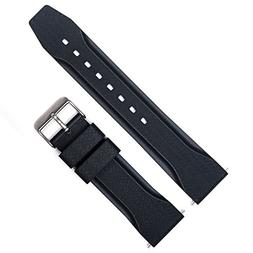 MARATHON Divers Model Rubber Watch Band/Strap . Made in Ital