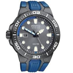 Citizen Eco-Drive Men's BN0097-02H ECO-DRIVE Dive Watch  Dat