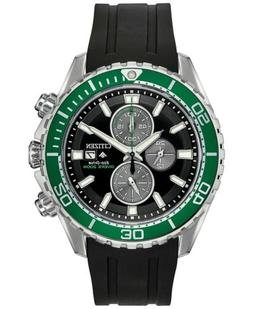 Citizen Eco-Drive Men's Promaster Diver Black Rubber Strap W