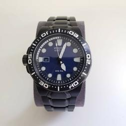 Citizen Eco-Drive Scuba Fin Dive Mens Watch BN0095-59L Reg.
