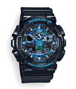 Casio Men's G-Shock GA100CB-1A Black Resin Quartz Watch