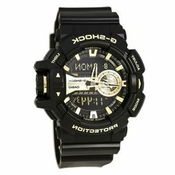 Casio G-Shock GA400GB-1A9 Gold Accented Black / Black Resin