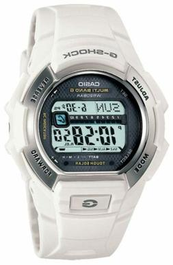 Casio Men's G-Shock GWM850-7CR Tough Solar Atomic White Resi