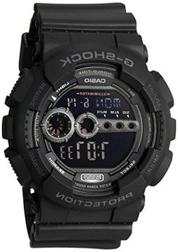 Casio Men's GD100-1BCR G-Shock X-Large Black Multi-Functiona