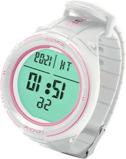 Cressi Goa Scuba Diving Watch Computer, White / Pink