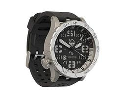 HAZARD 4 Heavy Water Diver BlackTie White GMT: Titanium Trit