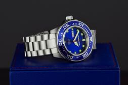 ARAGON Highly Revered 50mm DiveMaster 20ATM Blue AUTOMATIC D