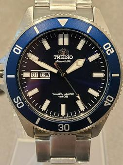 Orient Kanno Men's Watch 44mm Automatic Stainless Steel Dive