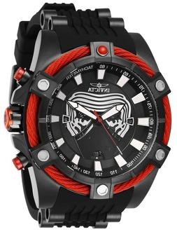 INVICTA KYLO REN Men's 'Star Wars' Quartz Watch with 3 SLOT