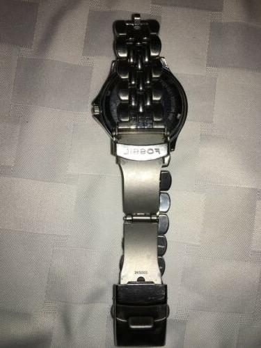 Fossil 100 Meter Dive Watch Battery