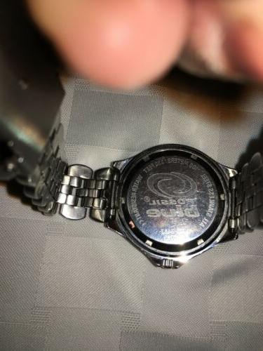 Fossil 100 Meter Watch Mens Battery