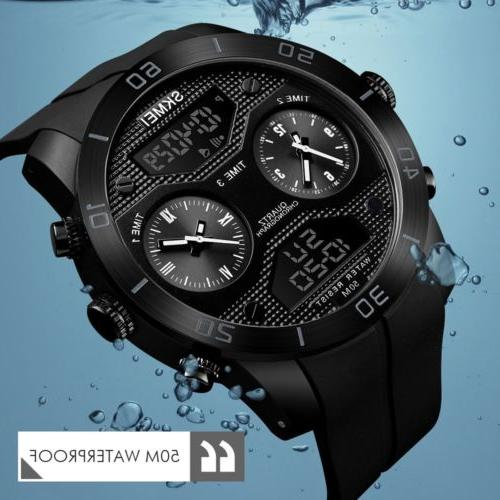 SKMEI Men Sport Outdoor Diving Digital Wrist Watches